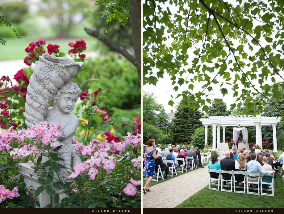 patrick haley mansion outdoor wedding