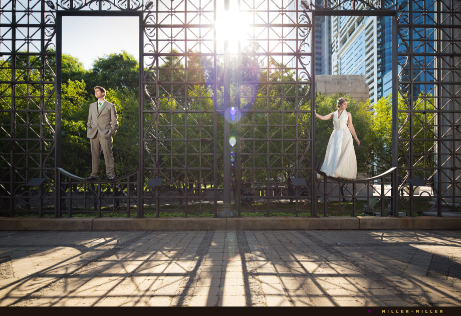 urban elegant wedding pictures