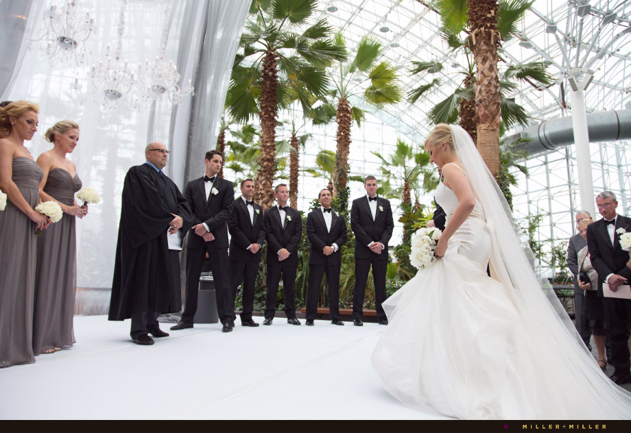 cathedral length veil couture gown