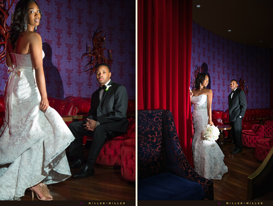 dramatic edgy chicago wedding photography
