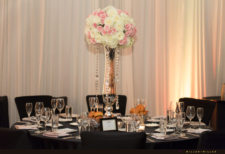 feminine blush pink reception