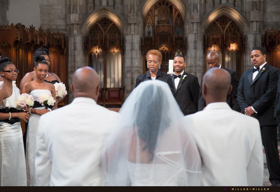 groom smiling bride dad aisle