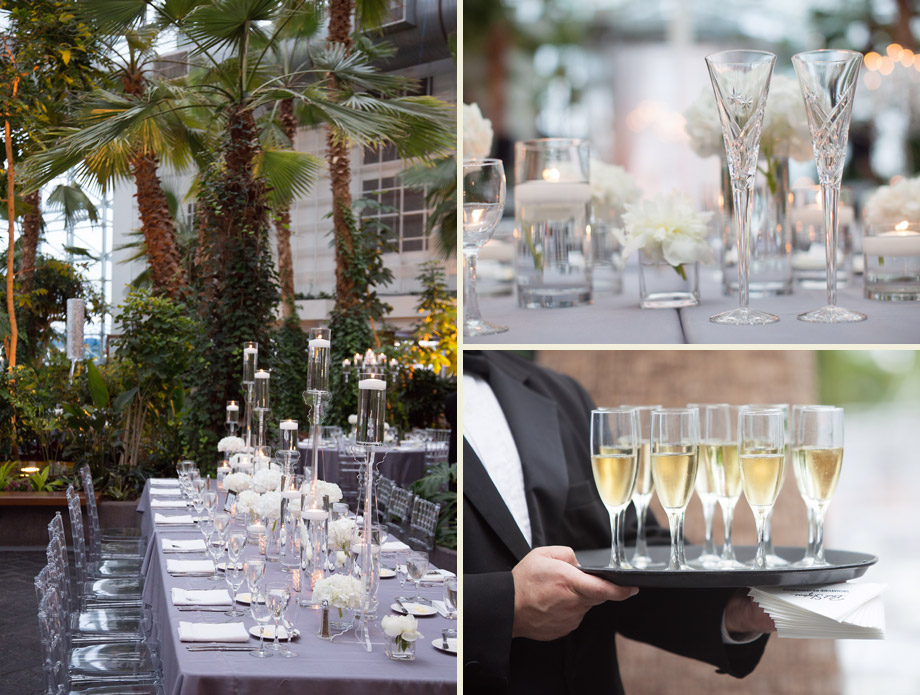 luxurious crystal centerpieces wedding table photographs