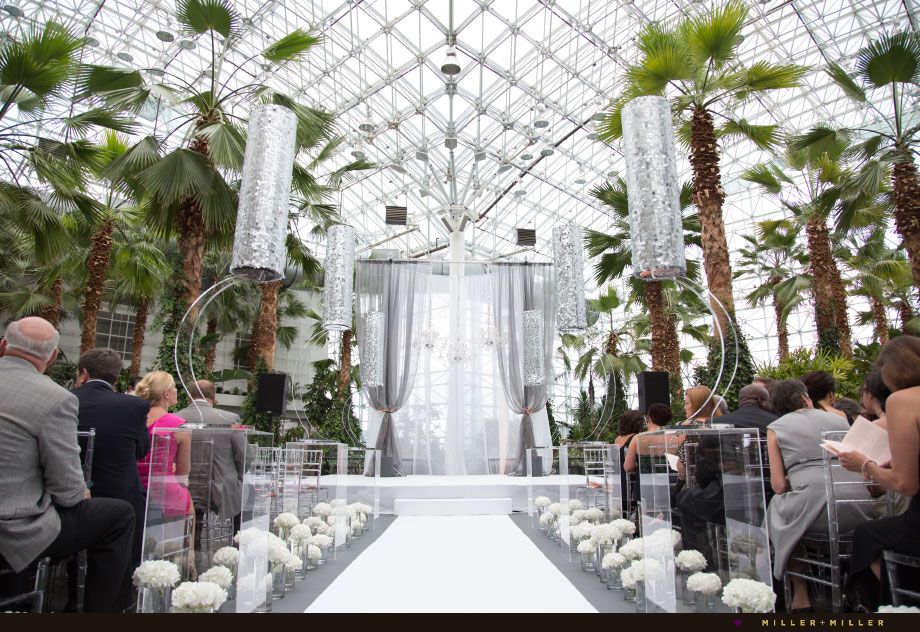 navy pier glass atrium crystal garden ceremony
