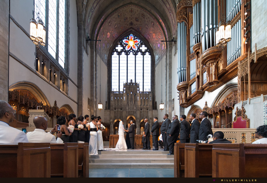 rockefeller memorial chapel ceremony
