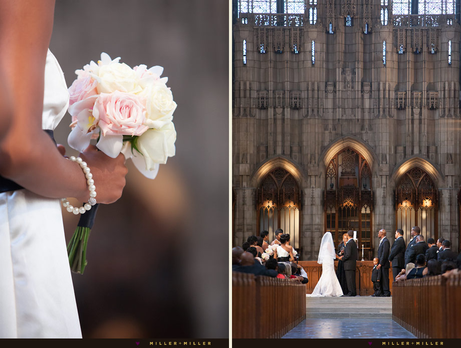 soft pink white bridesmaid bouquet