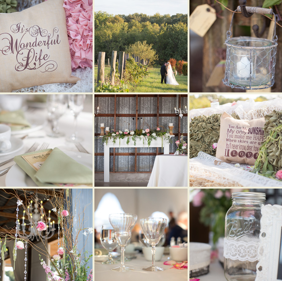 barn wedding emerson creek pottery oswego