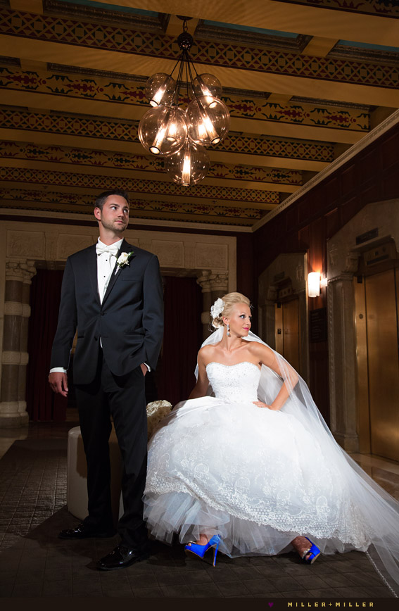 Chicago InterContinental wedding photography