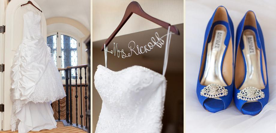 cobalt blue bride heels