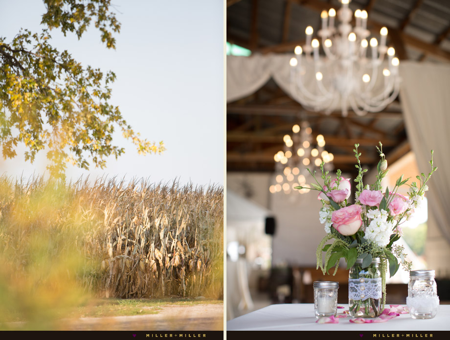 elegant barn wedding photography