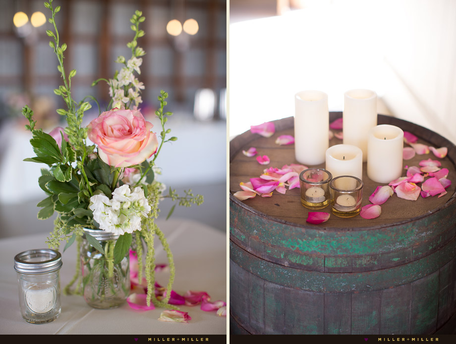 elegant wedding pottery barn decor wine barrel