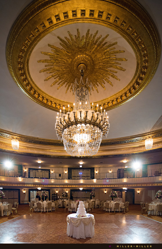 Michigan avenue historic gold ballroom