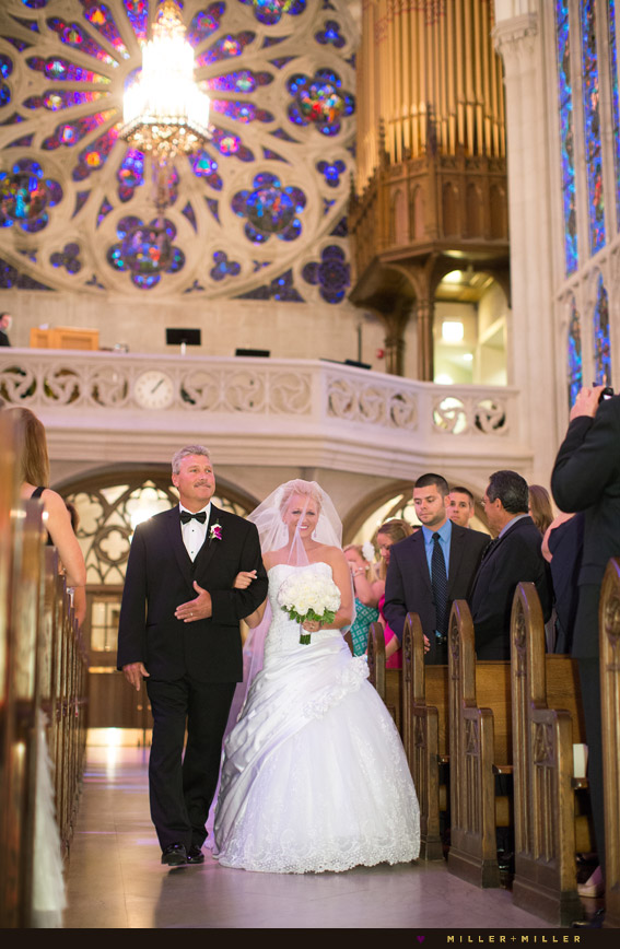 prettiest most beautiful church chicago wedding