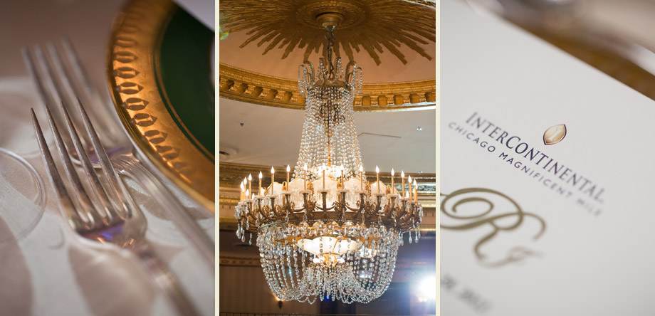 reception gold giant chandelier detail pictures
