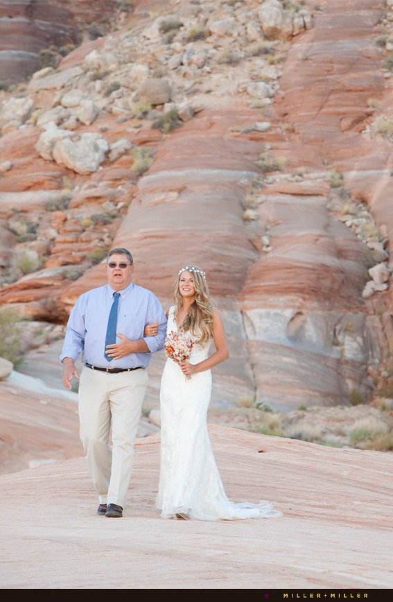Arizona desert destination wedding