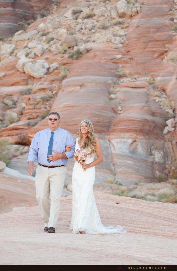 Arizona desert destination wedding