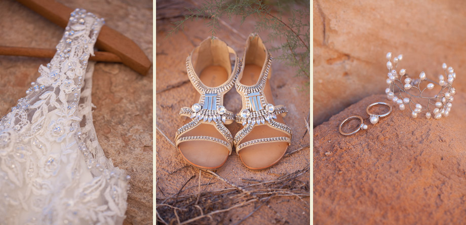 bohemian desert bridal beaded shoes jewelry