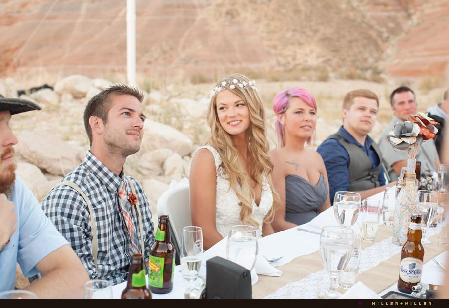 desert boho outdoor wedding