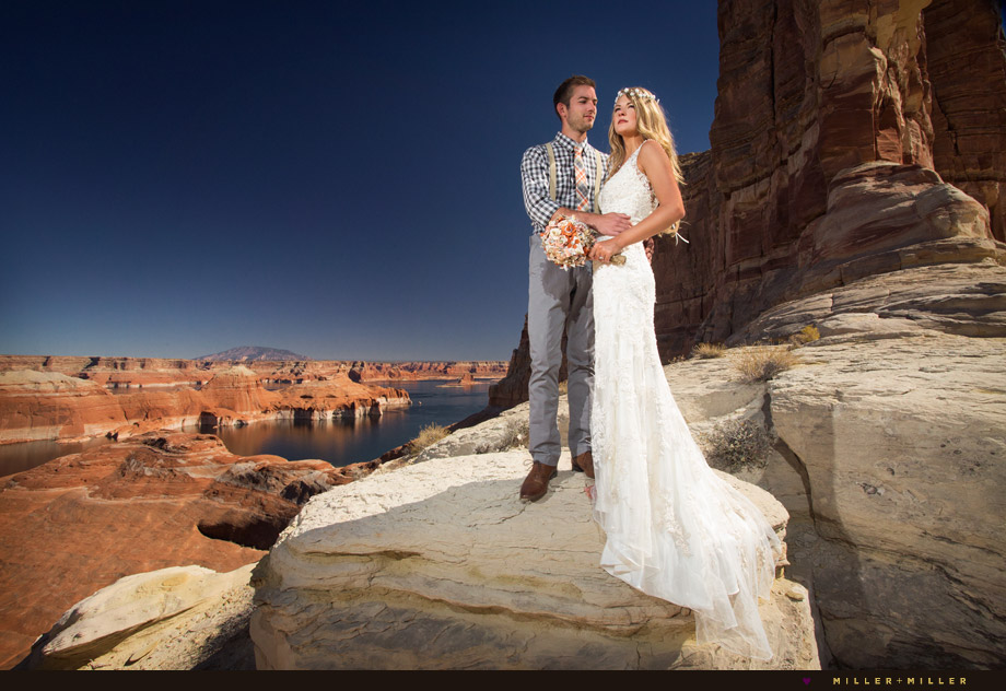 Lake Powell destination wedding