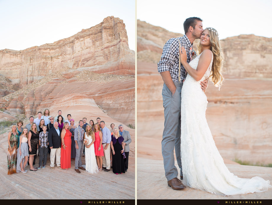 Las Vegas red rock desert wedding