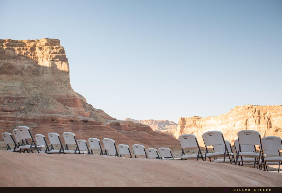 Utah outdoor ceremony
