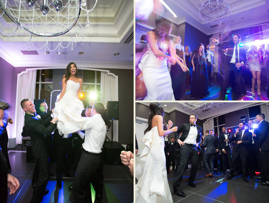 DJ firm Sye Young reception dance floor photos