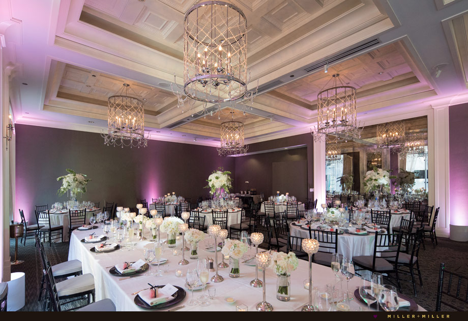 Waldorf Astoria Chicago wedding reception