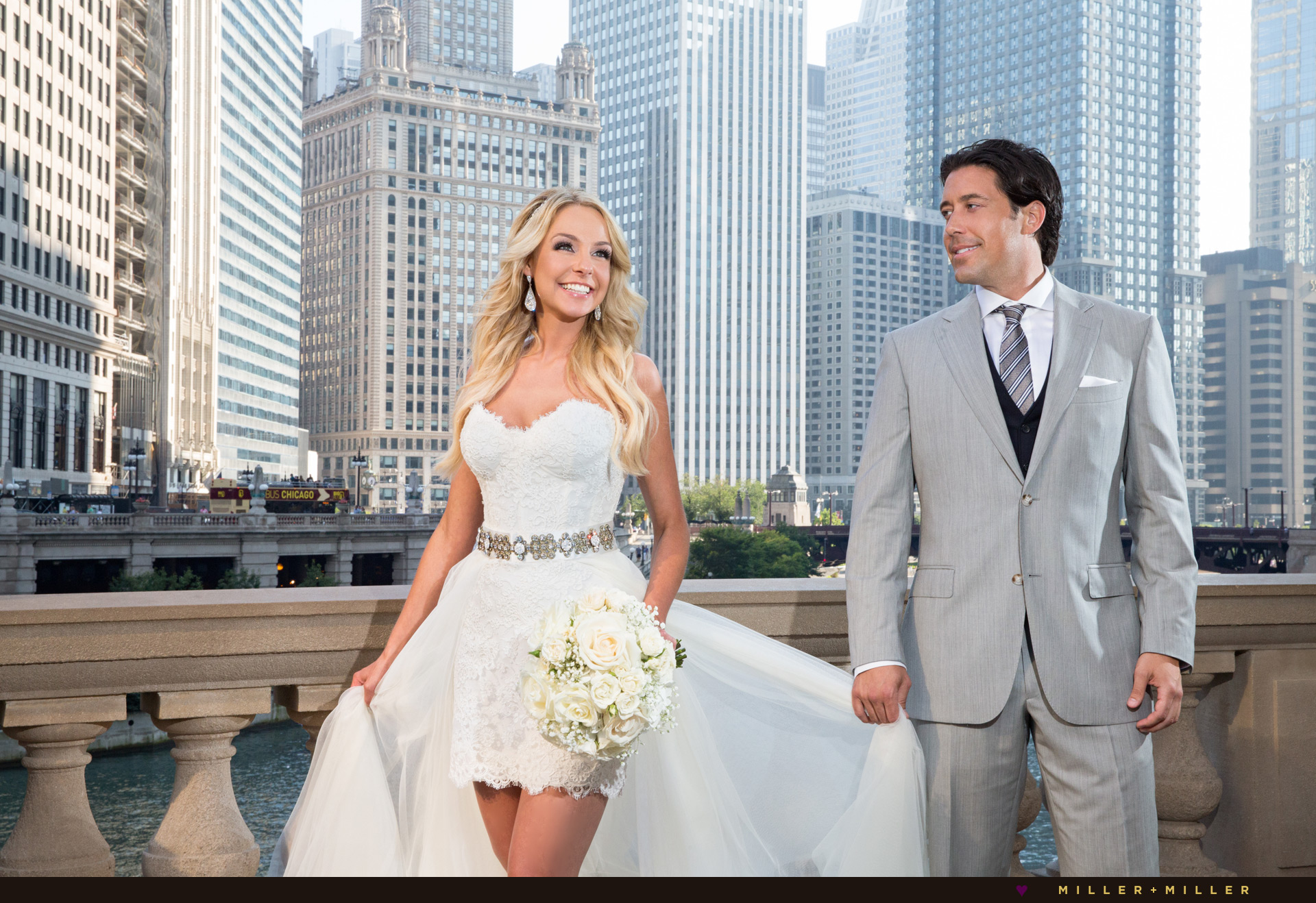 Natalie Ed Swiderski married wedding photographs