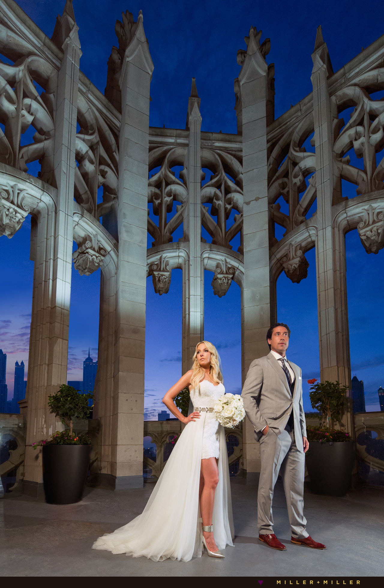 Tribune Tower Chicago Wedding