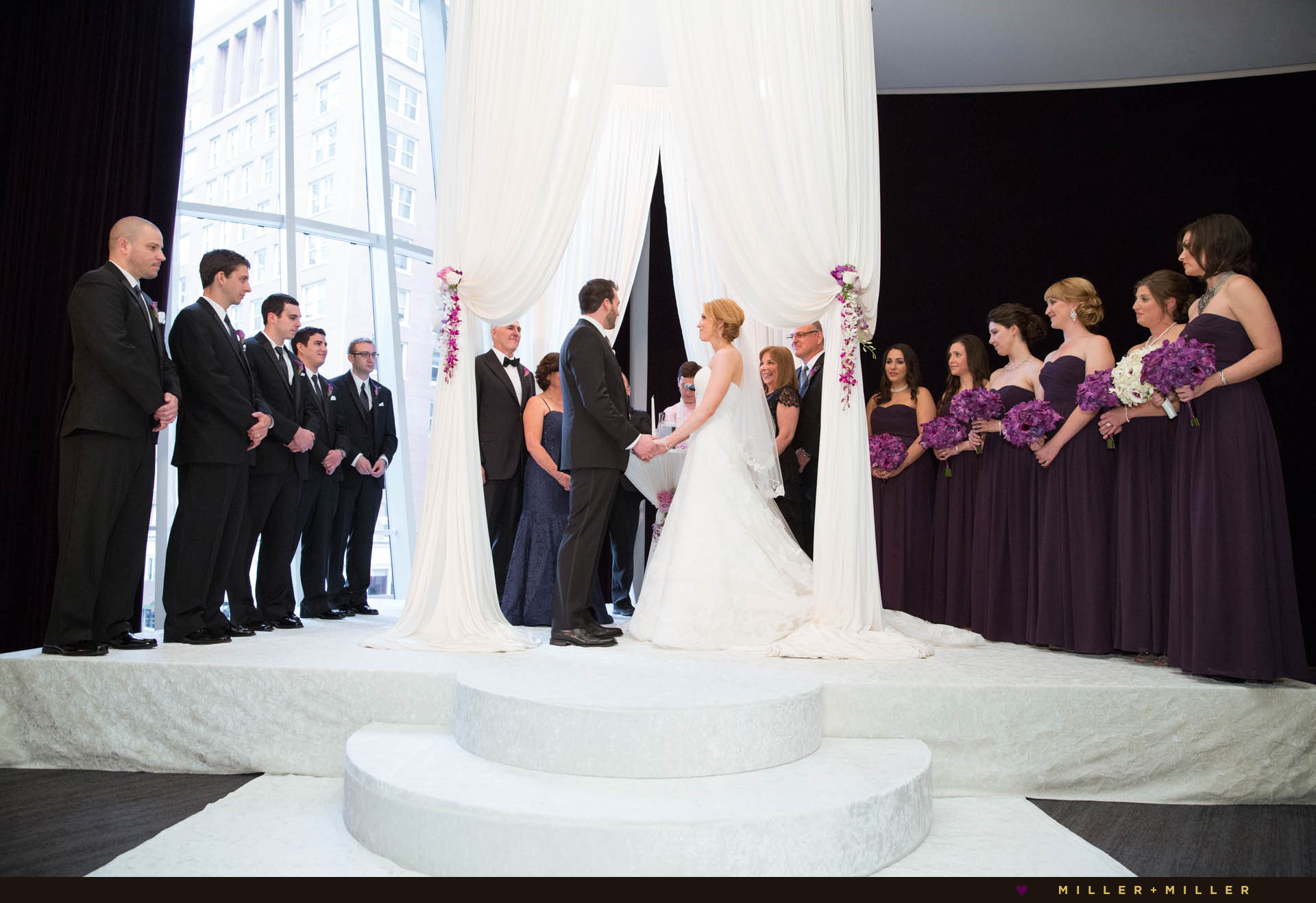 Chicago Sofitel water tower jewish wedding photos
