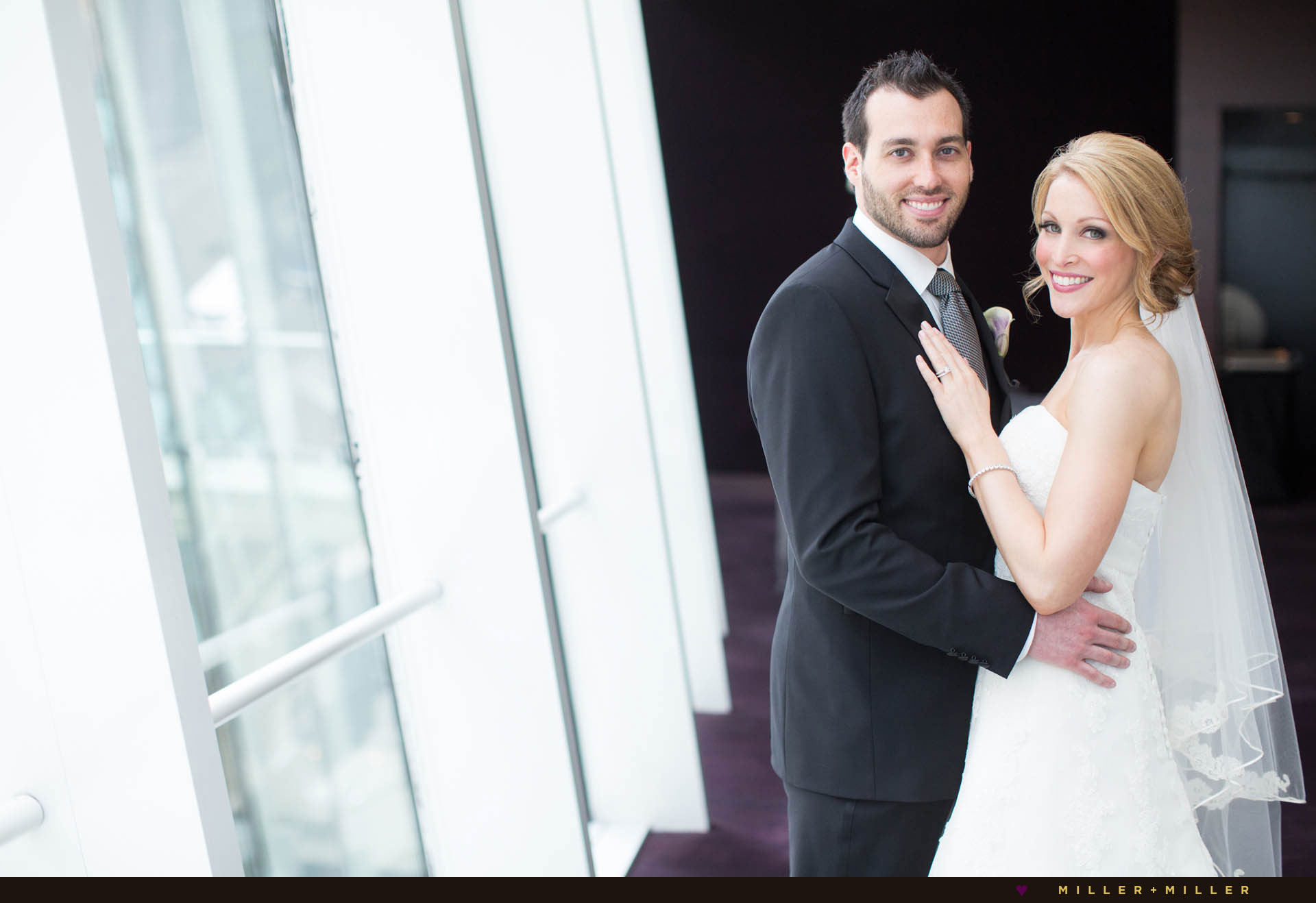 downtown City Chicago modern wedding venue