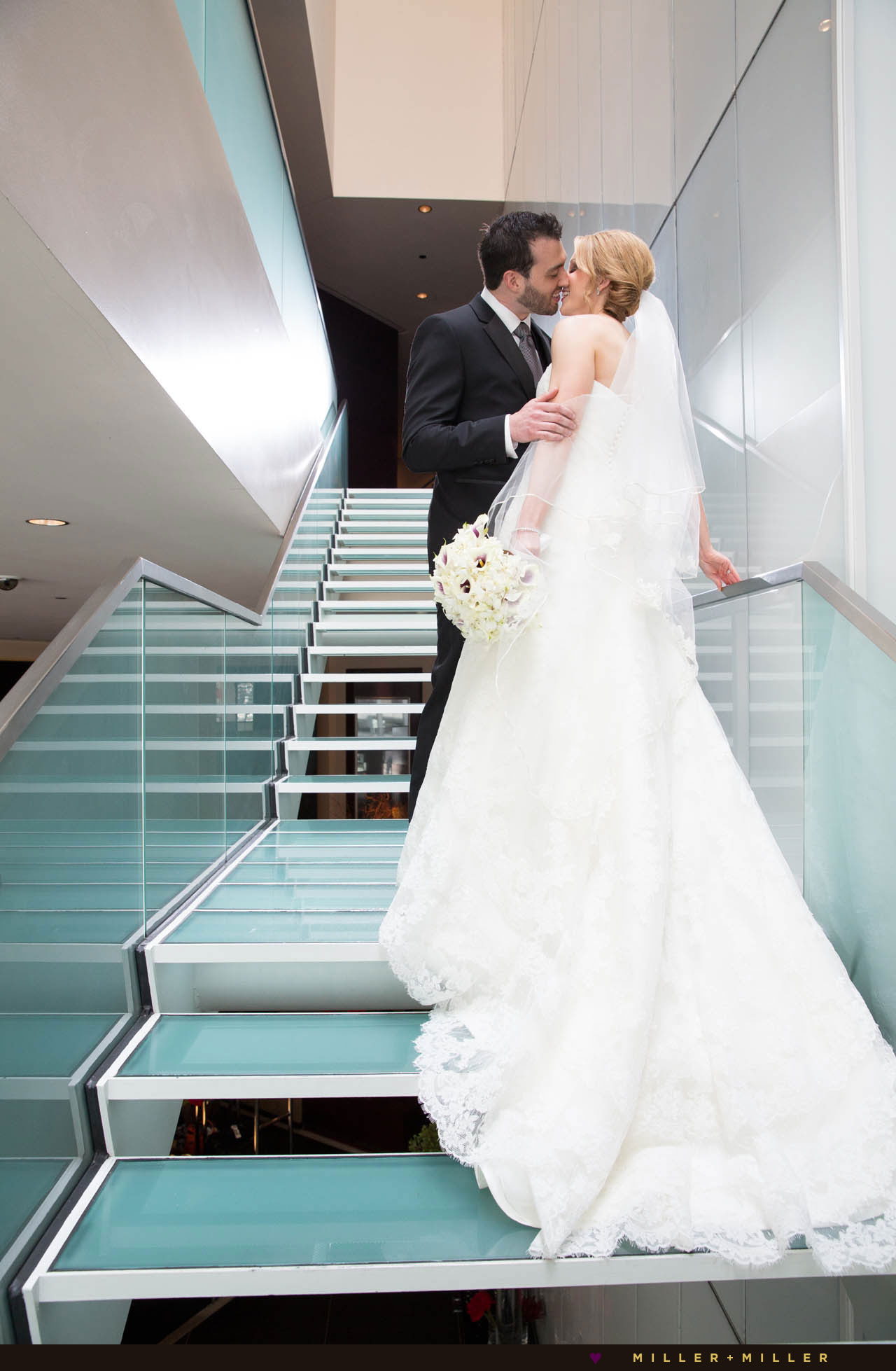 luxury Sofitel hotel Chicago wedding photography