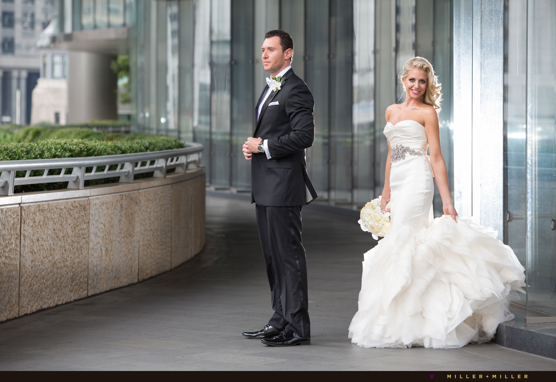 Trump Chicago wedding