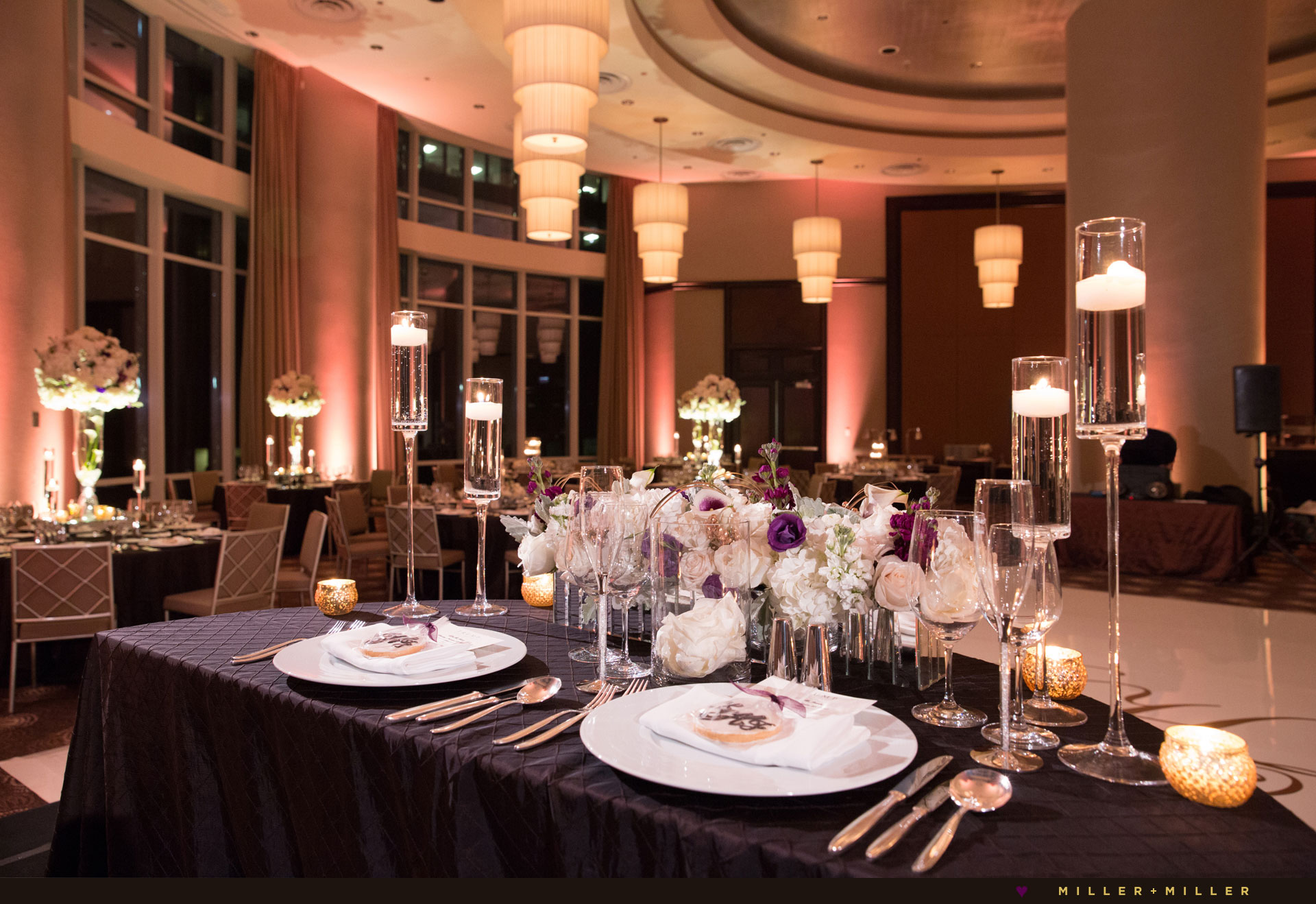 Trump Hotel Chicago wedding reception