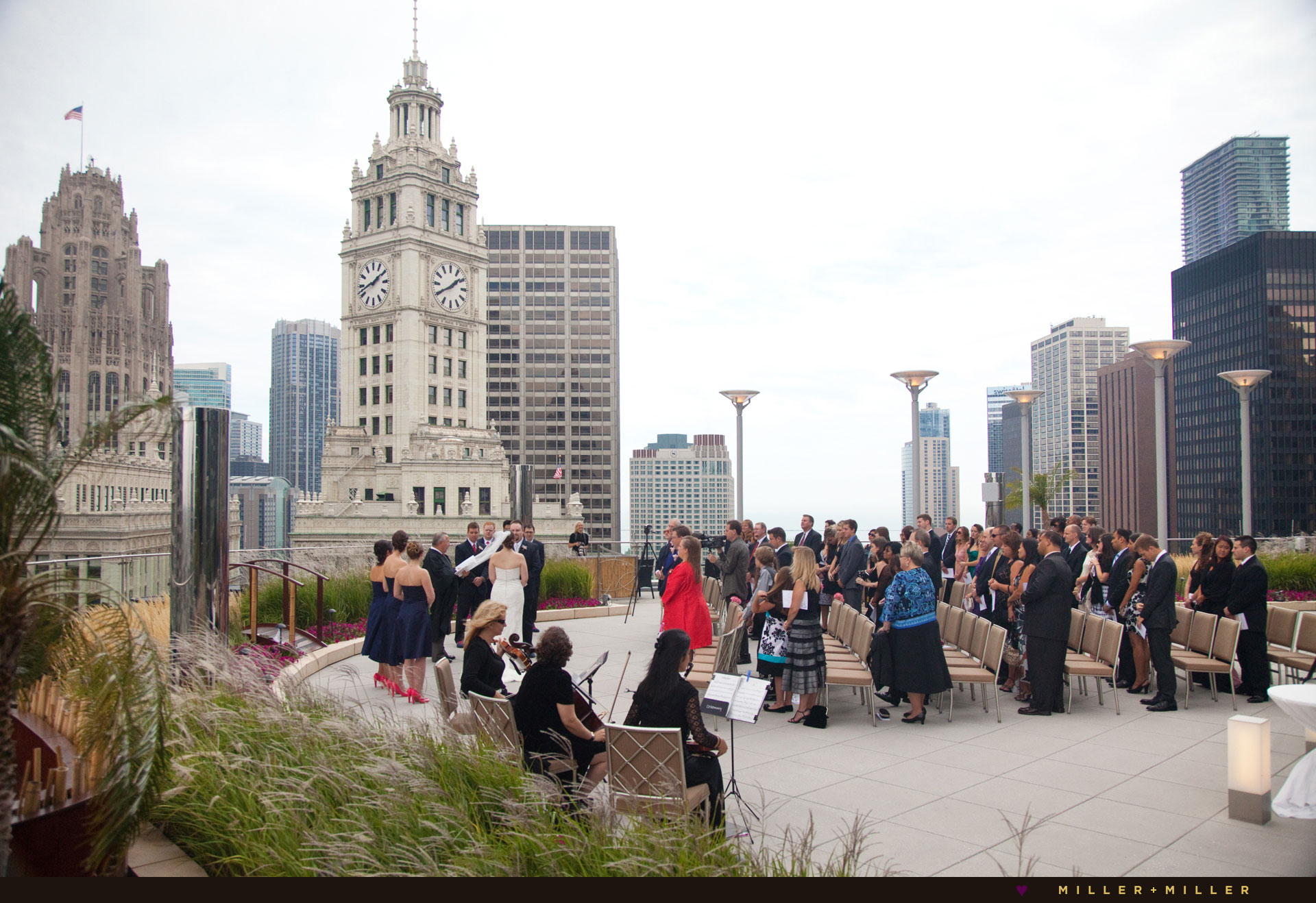 trump terrace Chicago wedding