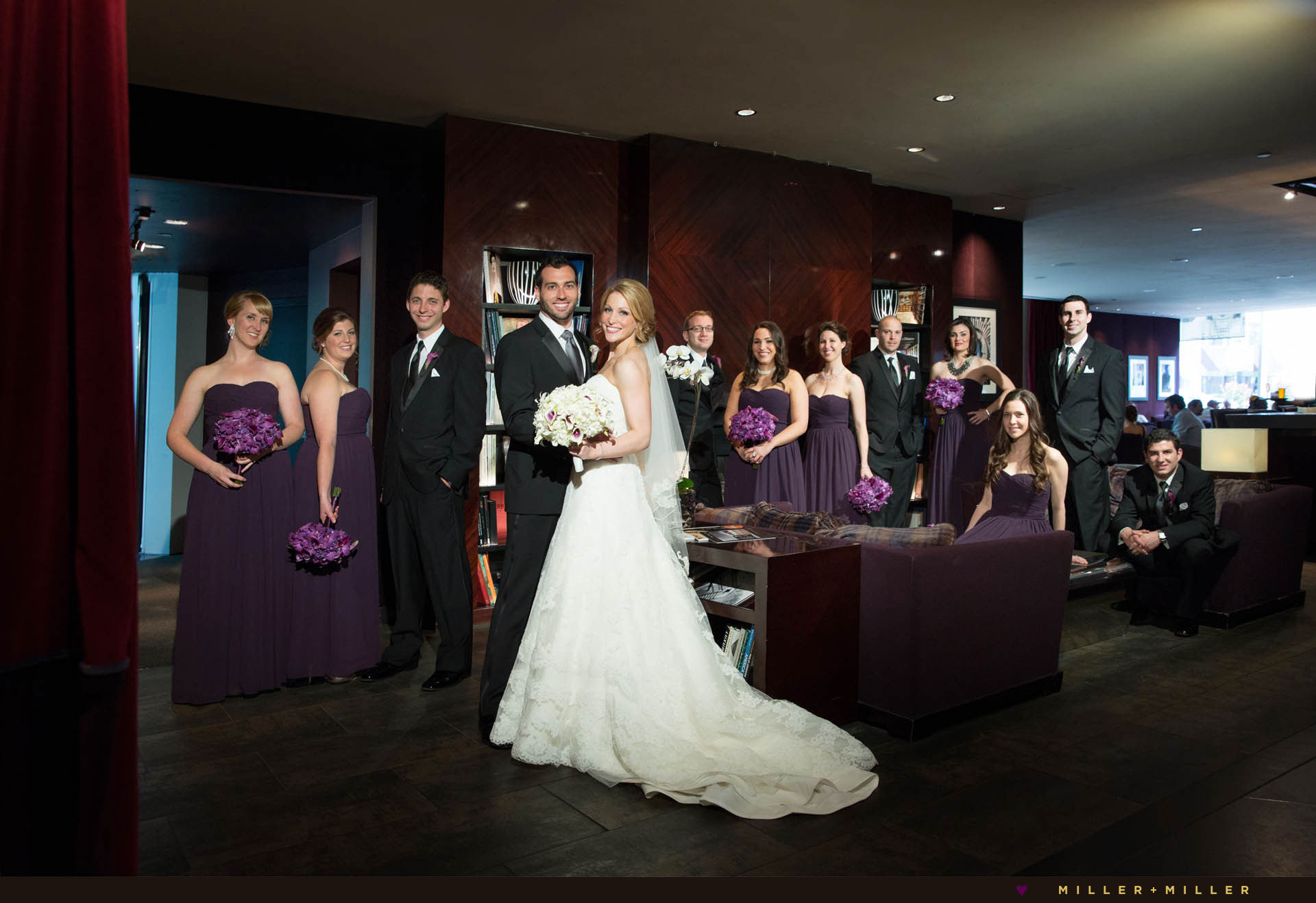 wedding photos Sofitel Chicago Water Tower