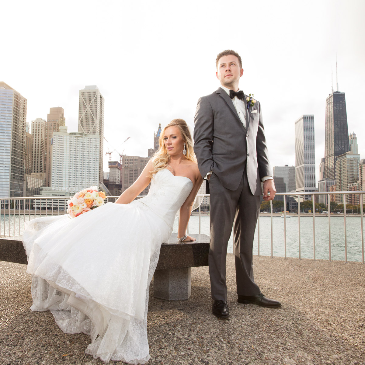 Chicago Beach Nature Outdoor Weddings