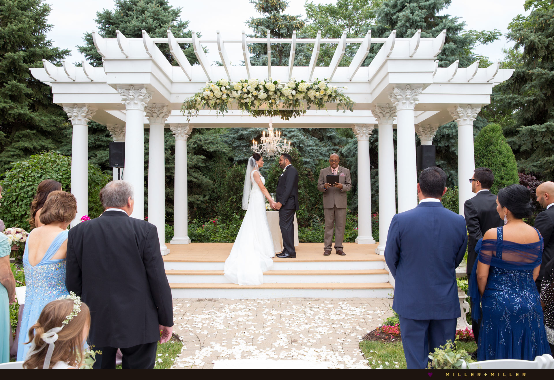 Chicago outdoor ceremony photographs