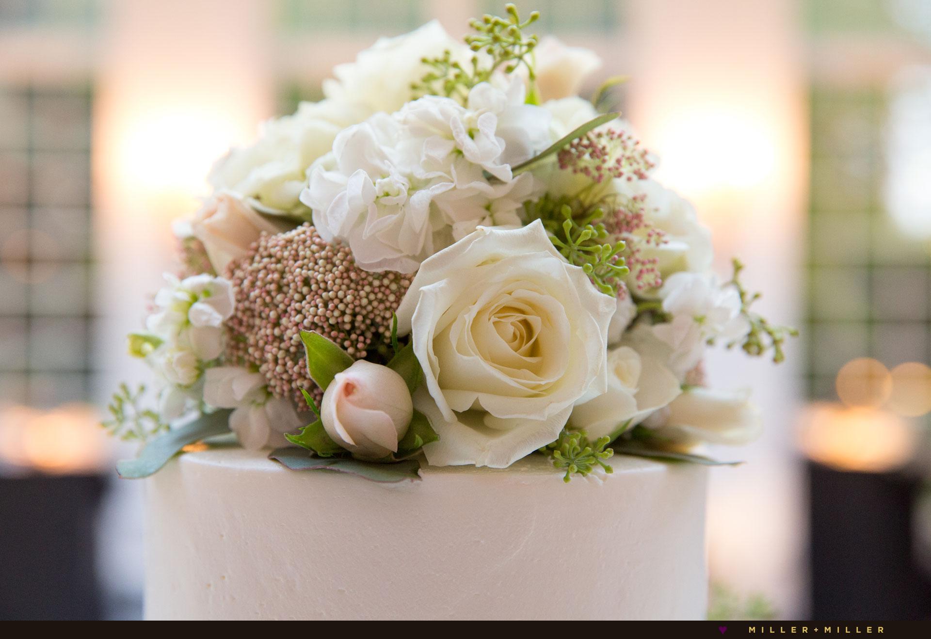 elegant cake topper Flowers Plus Streator florist