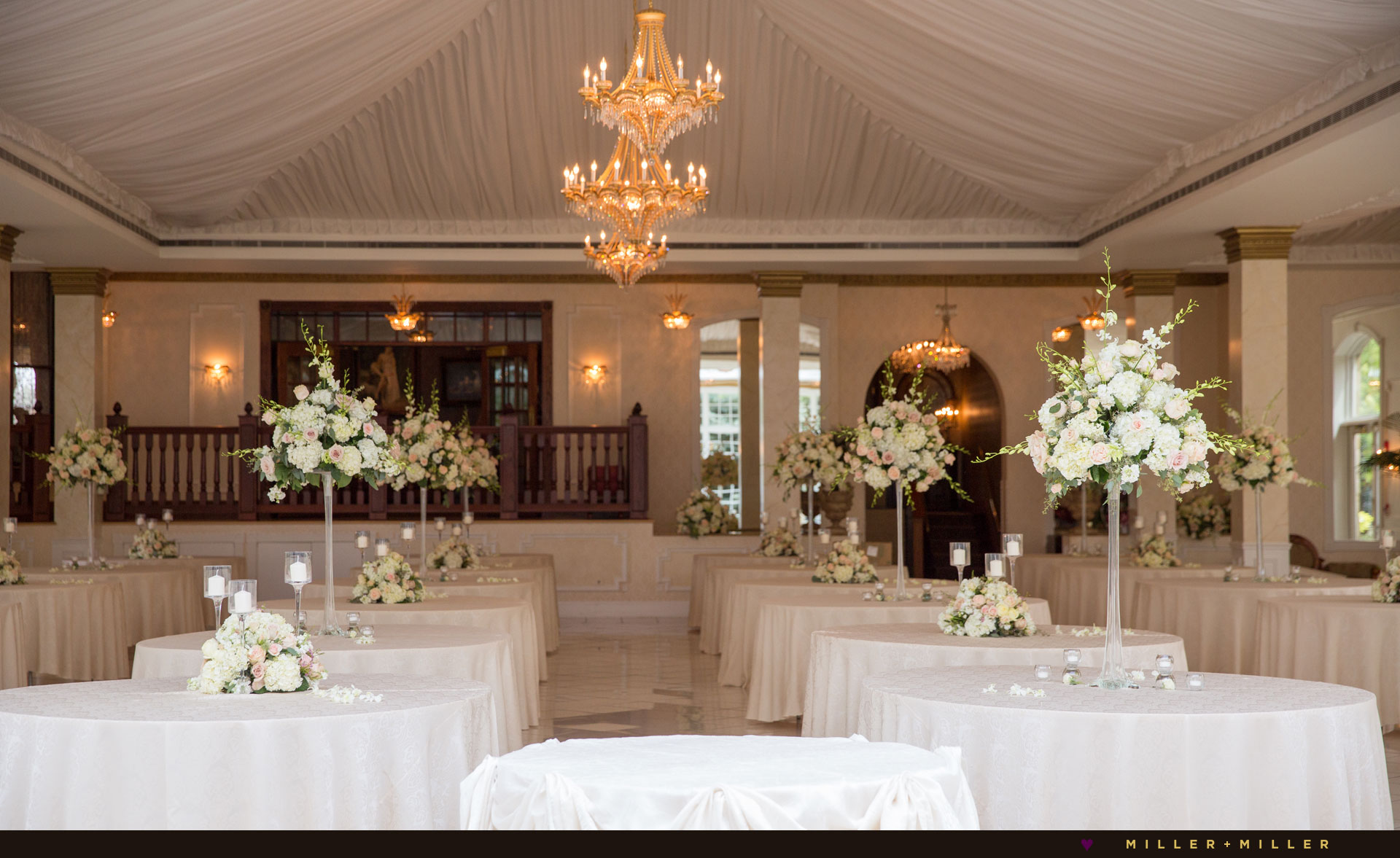 elegant luxury ballroom reception Chicago suburbs