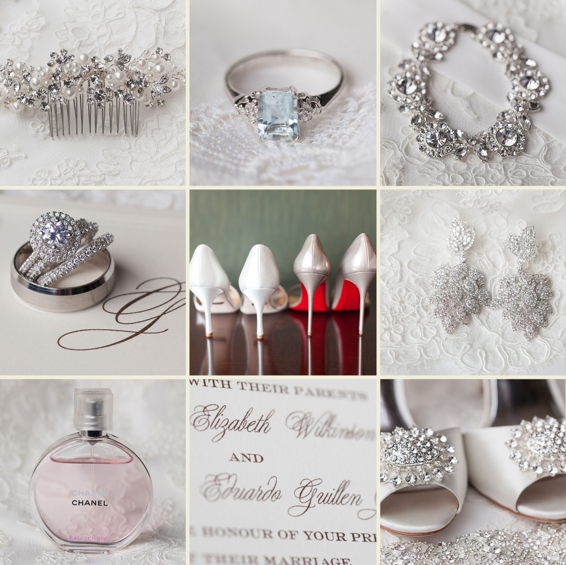 lace elegant classic bride jewelry
