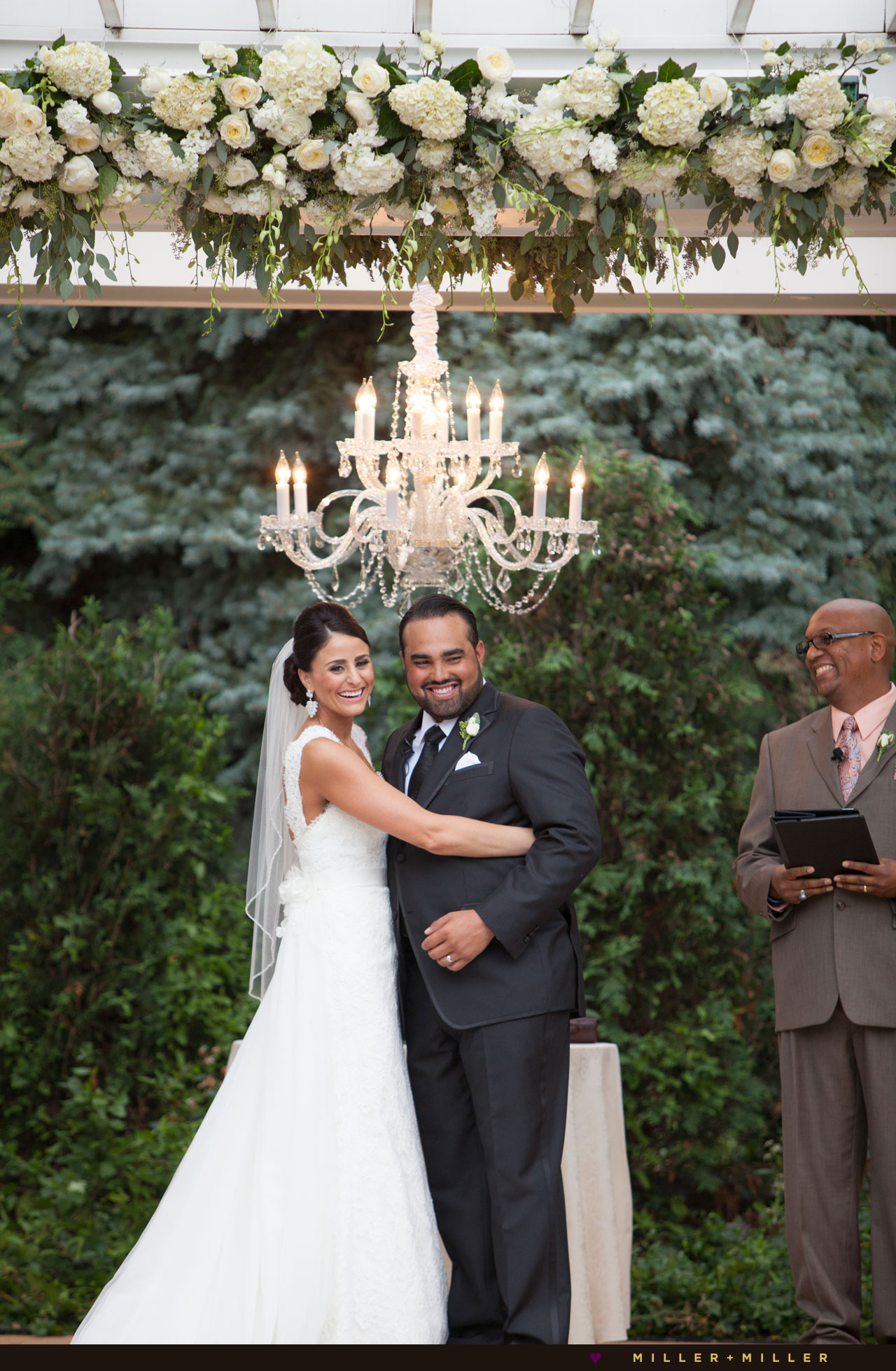 luxury backyard outdoor wedding Chicago