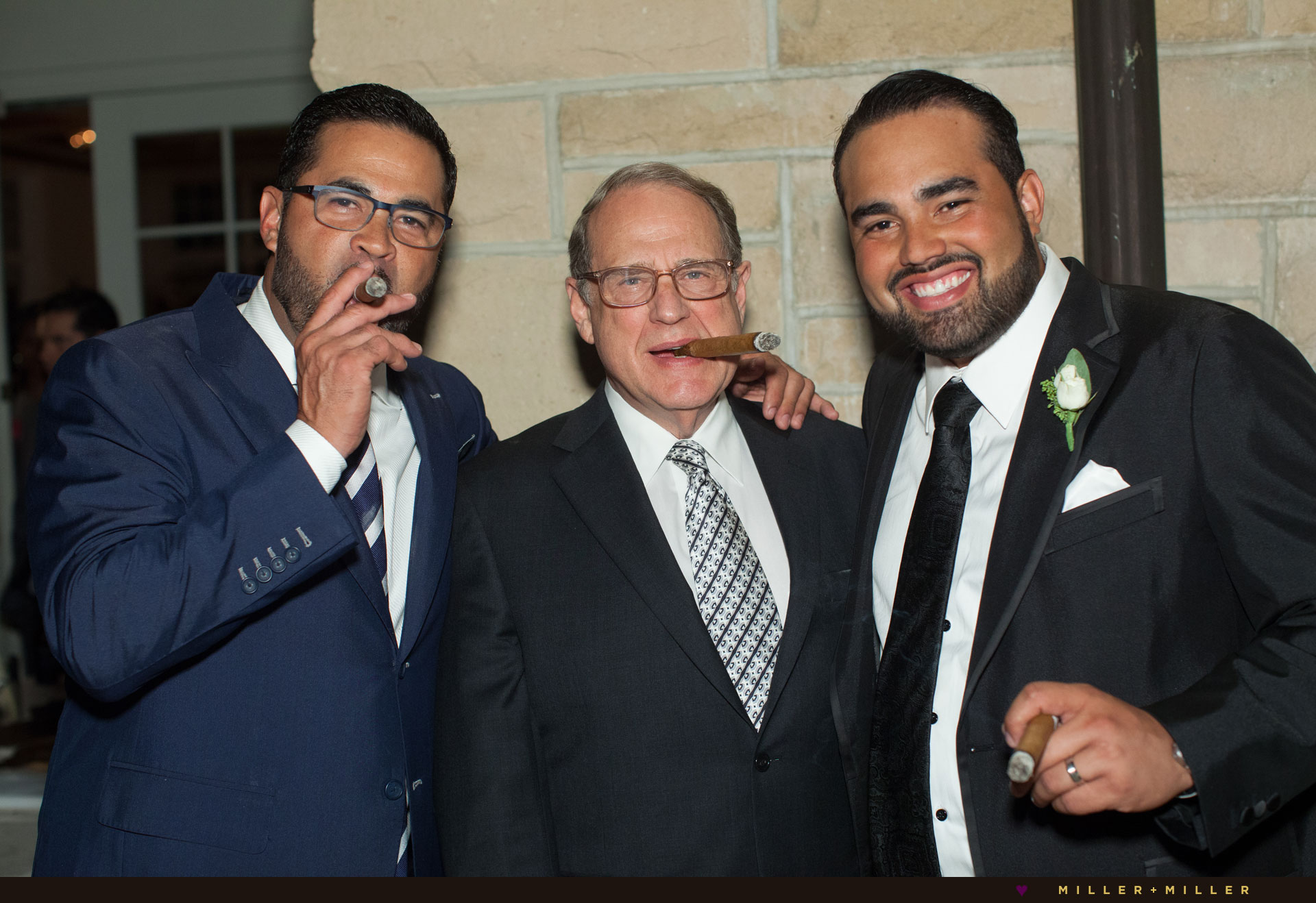 Ozzie Guillen wedding photos