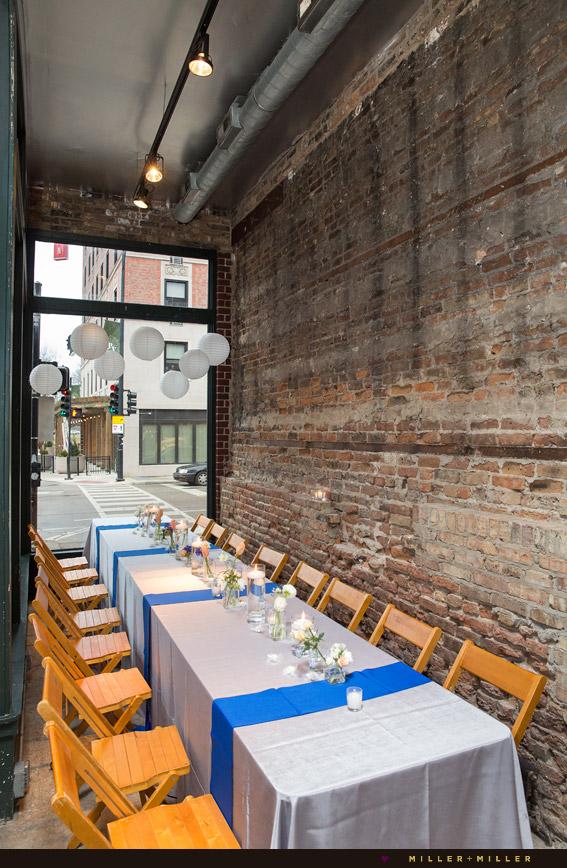 brick loft in chicago spring wedding