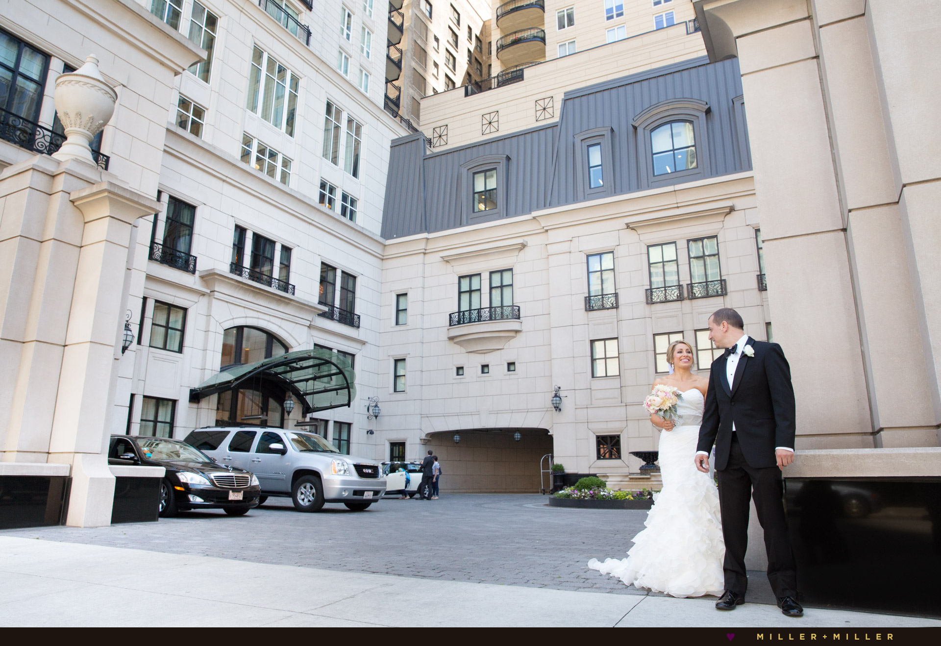 luxury Waldorf Astoria Chicago brides wedding